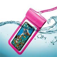 """Univerzální voděodolné pouzdro CELLY Splash Bag 2019 pro telefony 6,5"""", růžové"""