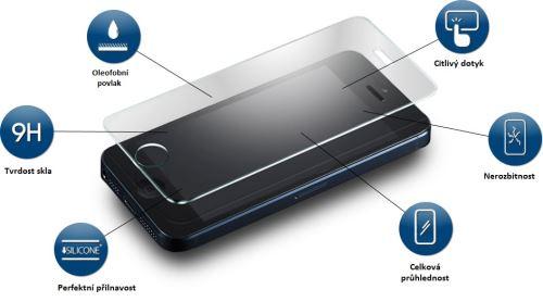 Pudini Tvrzené Sklo 0.3mm pro Huawei Y5 II / Y6 II Compact